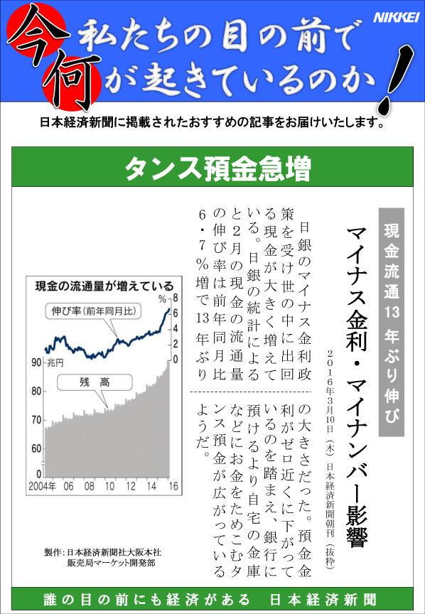 日本経済新聞MORI・MORIニュース 131号です。
